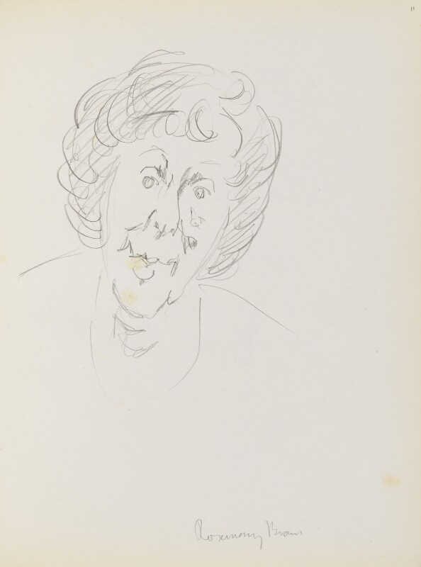 Rosemary Brown, by Cecil Beaton, late 1960s-early 1970s - NPG D17945(11) - © National Portrait Gallery, London