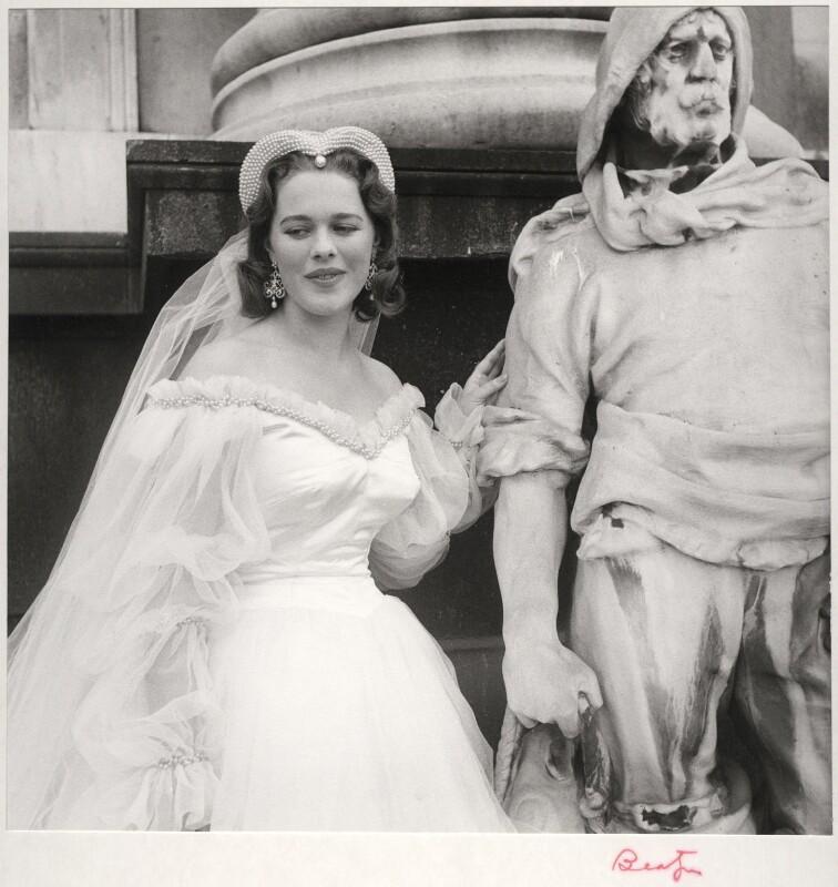 Lady Antonia Fraser (née Pakenham), by Cecil Beaton, September 1956 - NPG x14082 - © Cecil Beaton Studio Archive, Sotheby's London