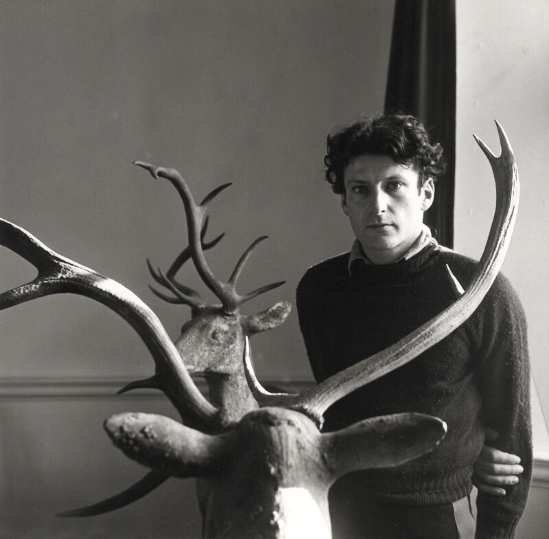 Lucian Freud, by Cecil Beaton, April 1956 - NPG x14083 - © Cecil Beaton Studio Archive, Sotheby's London