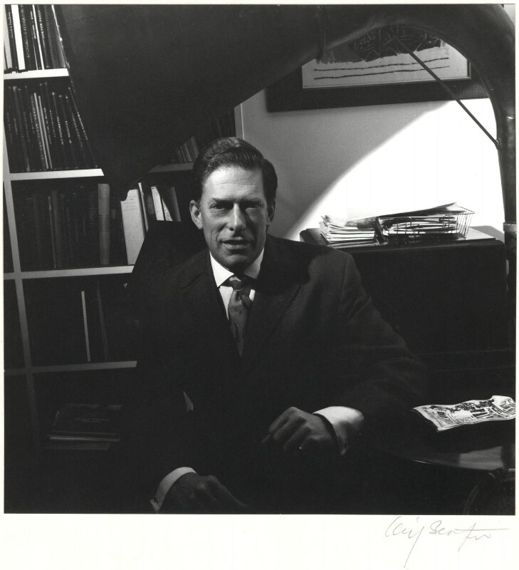 George Lascelles, 7th Earl of Harewood, by Cecil Beaton, late 1960s - NPG x14097 - © Cecil Beaton Studio Archive, Sotheby's London