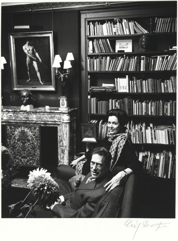 George Lascelles, 7th Earl of Harewood; Patricia Elizabeth (née Tuckwell), Countess of Harewood, by Cecil Beaton, late 1960s - NPG x14098 - © Cecil Beaton Studio Archive, Sotheby's London