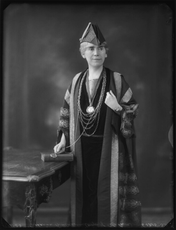 Catherine B.Alderton (née Robinson), by Bassano Ltd, 11 December 1923 - NPG x122809 - © National Portrait Gallery, London