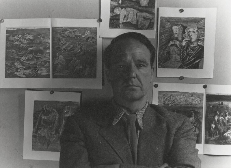 Henry Moore, by Cecil Beaton, 1940s - NPG x14148 - © Cecil Beaton Studio Archive, Sotheby's London