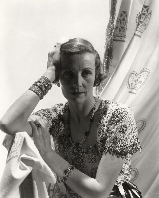 Edwina Cynthia Annette (née Ashley), Countess Mountbatten of Burma, by Cecil Beaton, 1930s - NPG x14152 - © Cecil Beaton Studio Archive, Sotheby's London
