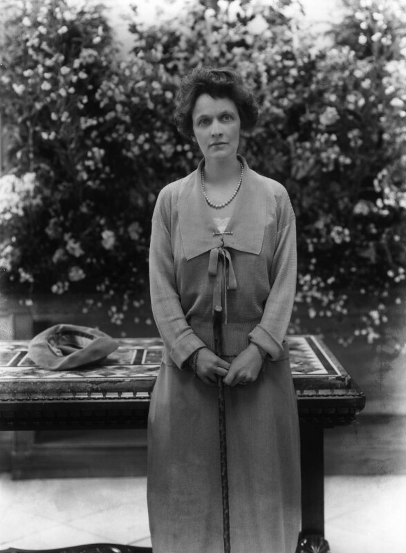 Nancy Astor, Viscountess Astor, by Bassano Ltd, 18 June 1923 - NPG x18821 - © National Portrait Gallery, London
