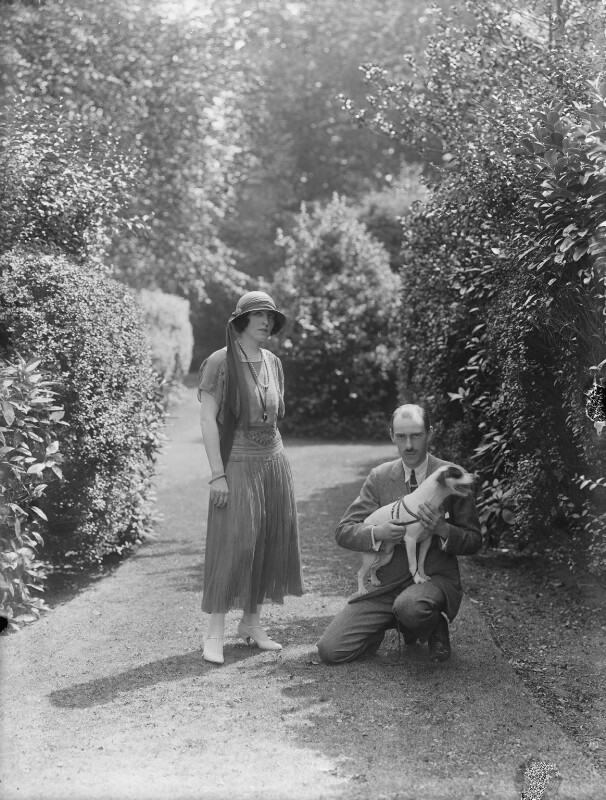 Elisaveta Fabrizievna (née Ruffo), Princess Alexandrovitch of Russia; Prince Andrew Alexandrovitch of Russia, by Bassano Ltd, 10 August 1923 - NPG x37280 - © National Portrait Gallery, London