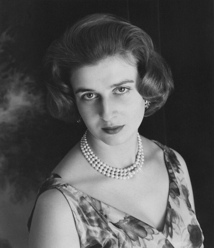 Princess Alexandra, Lady Ogilvy, by Cecil Beaton, 1963 - NPG x14171 - © V&A Images
