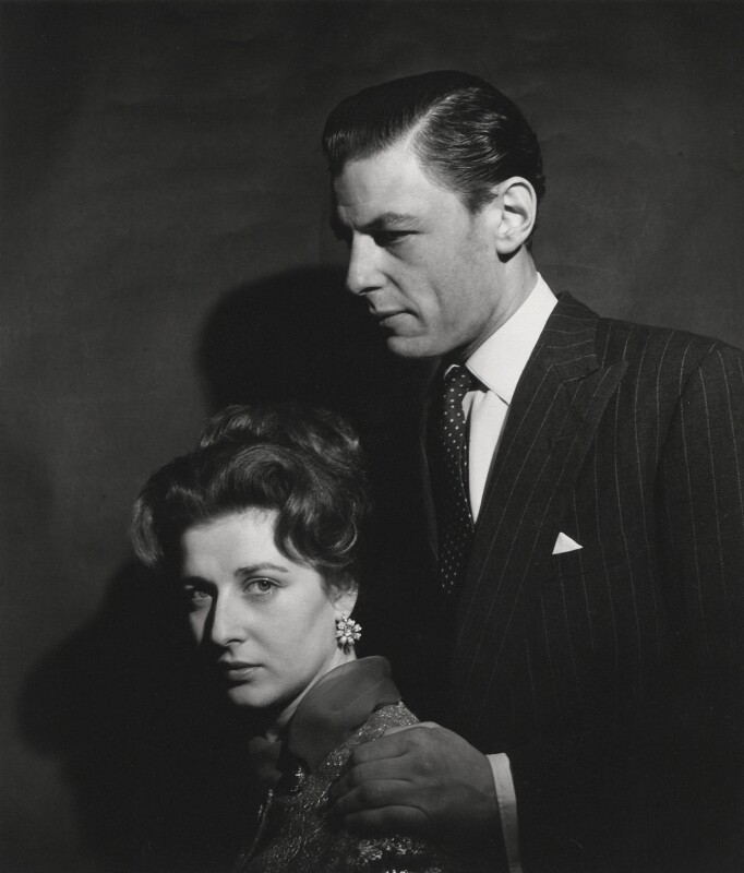 Princess Alexandra, Lady Ogilvy; Angus Ogilvy, by Cecil Beaton, 1963 - NPG x14172 - © V&A Images