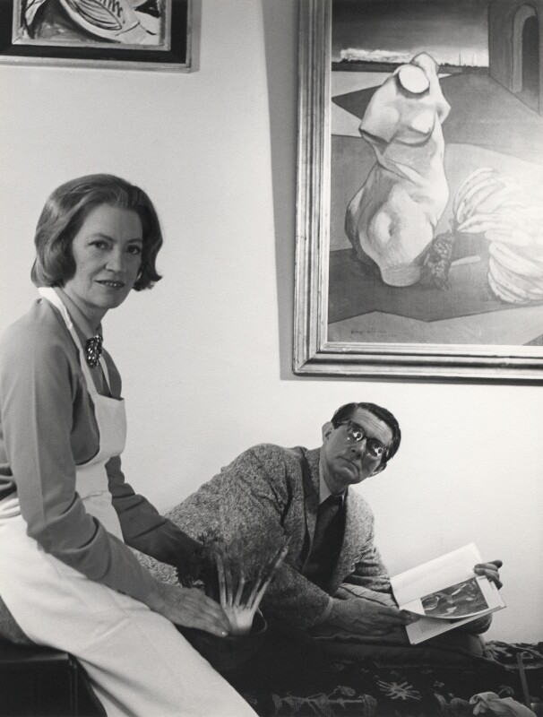 Lee Miller; Roland Penrose, by Cecil Beaton, mid 1960s - NPG x14178 - © Cecil Beaton Studio Archive, Sotheby's London