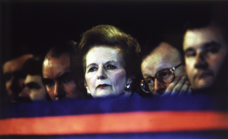 NPG x126072; Margaret Thatcher and members of John Major's ...
