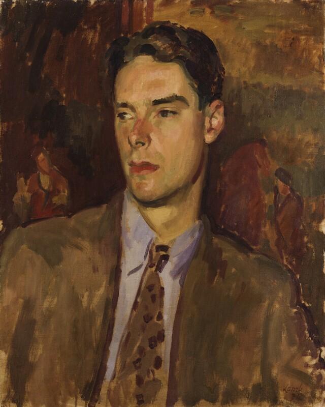 Anthony Powell, by Henry Lamb, 1934 - NPG 6627 - © estate of Anthony Dymoke Powell / National Portrait Gallery, London