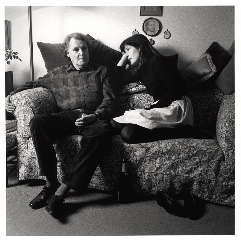 Gavin Buchanan Ewart; Jane Ewart, by Emily Andersen, 1987 - NPG x45672 - © Emily Andersen