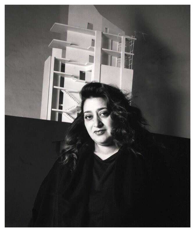 Dame Zaha Hadid, by Emily Andersen, 1991 - NPG x45673 - © Emily Andersen