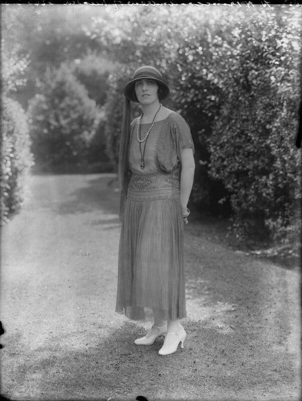 Elisaveta Fabrizievna (née Ruffo), Princess Alexandrovitch of Russia, by Bassano Ltd, 10 August 1923 - NPG x37279 - © National Portrait Gallery, London