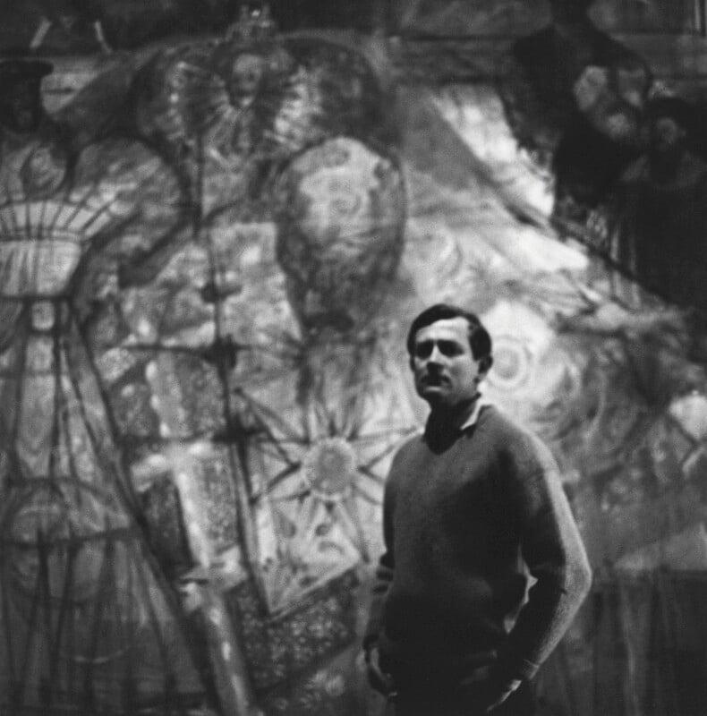 Leonard Rosoman, by Cecil Beaton, 1964 - NPG x14192 - © Cecil Beaton Studio Archive, Sotheby's London