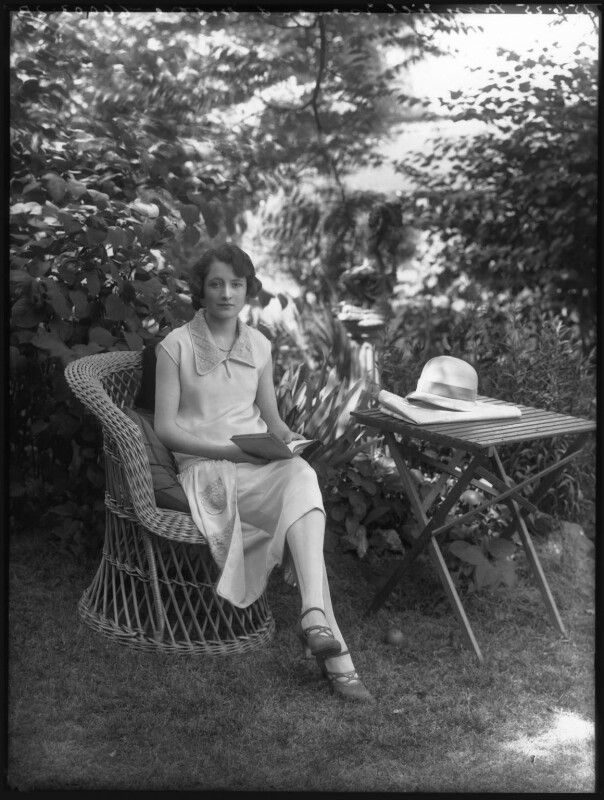 Jill Esmond, by Bassano Ltd, 25 June 1925 - NPG x37233 - © National Portrait Gallery, London