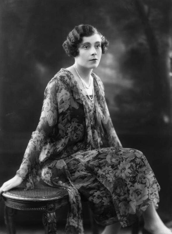 Dame Barbara Hamilton Cartland, by Bassano Ltd, 2 November 1925 - NPG x18828 - © National Portrait Gallery, London