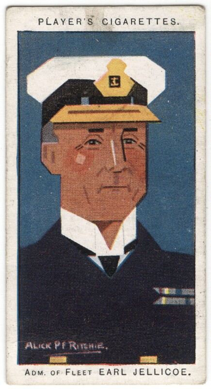 John Rushworth Jellicoe, 1st Earl Jellicoe, by Alexander ('Alick') Penrose Forbes Ritchie, 1926 - NPG D18018 - © National Portrait Gallery, London