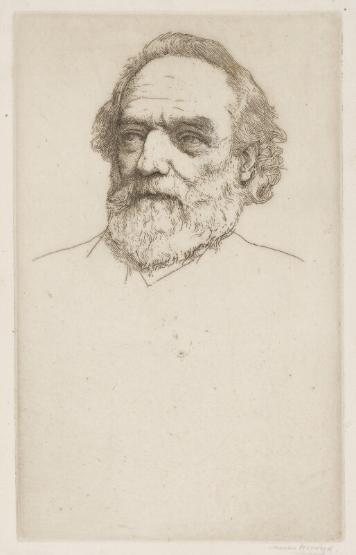 Alphonse Legros, by Sir Charles Holroyd, exhibited 1905 - NPG D18053 - © National Portrait Gallery, London