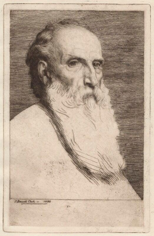 Alphonse Legros, by Joseph Benwell Clark, 1880 - NPG D18054 - © National Portrait Gallery, London
