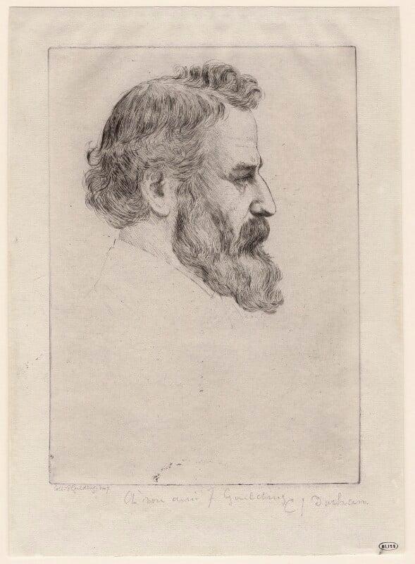 Alphonse Legros, by C.J. Durham, 1860s-1870s - NPG D18055 - © National Portrait Gallery, London