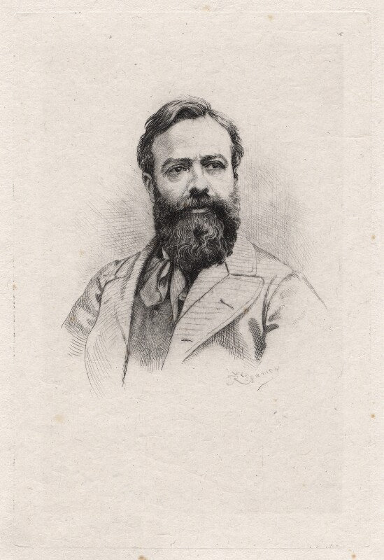Alphonse Legros, by Frédéric Régamey, published 1877 - NPG D18056 - © National Portrait Gallery, London