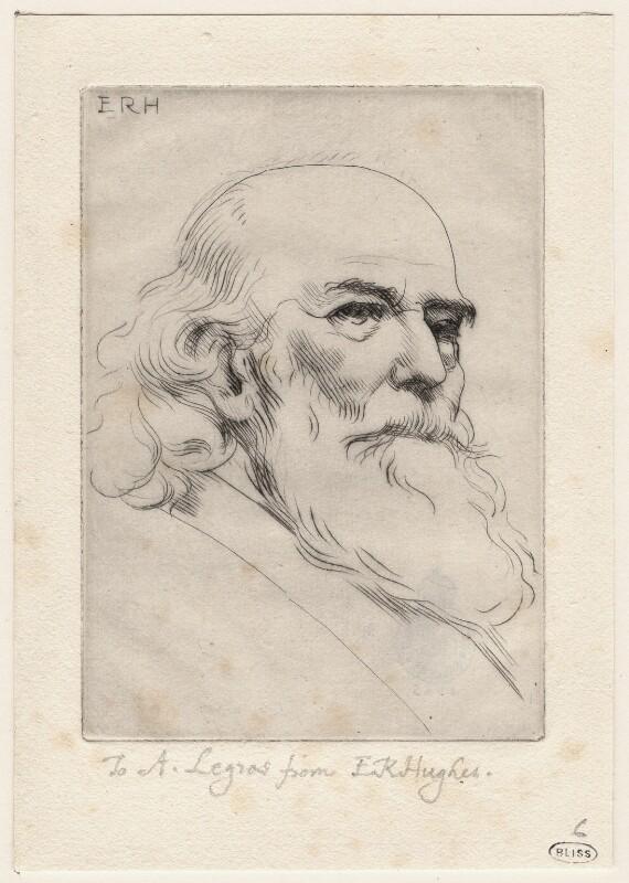 Alphonse Legros, by Edward Robert Hughes, circa 1905 - NPG D18057 - © National Portrait Gallery, London