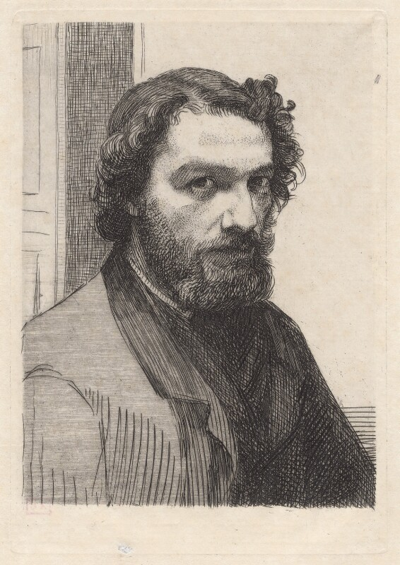 Alphonse Legros, by Félix Bracquemond, 1861 - NPG D18061 - © National Portrait Gallery, London