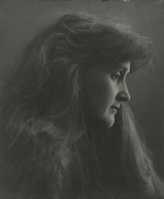 Leonora Piper, by Eveleen Myers (née Tennant), 1890 - NPG x87656 - © National Portrait Gallery, London