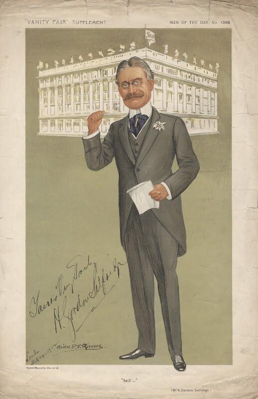 Harry Gordon Selfridge ('Men of the Day. No. 1308.
