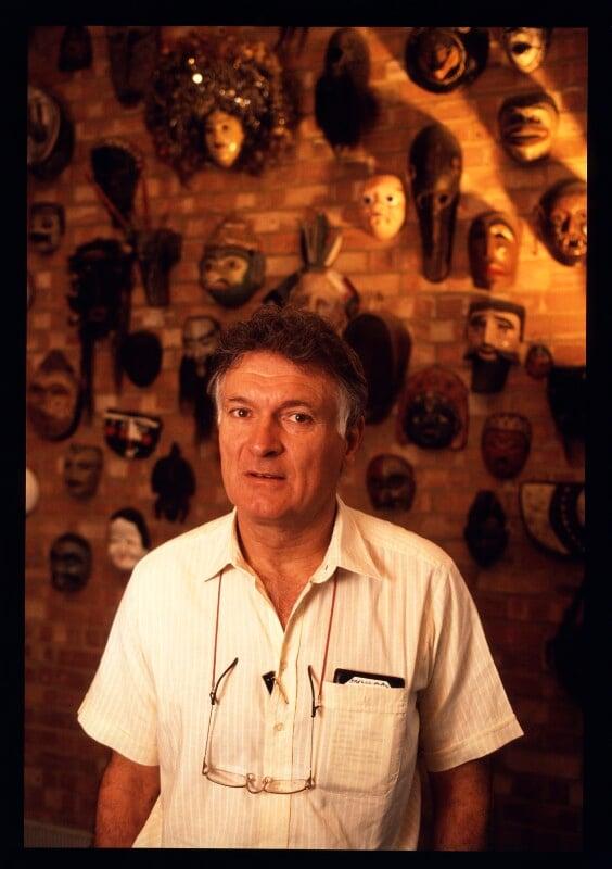 Sir Kenneth Henry Grange, by Geoff Howard, May 1990 - NPG x126105 - © Geoff Howard / National Portrait Gallery, London
