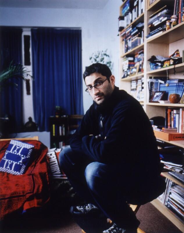 Asif Kapadia, by James Galloway, February 2003 - NPG x126107 - © James Galloway