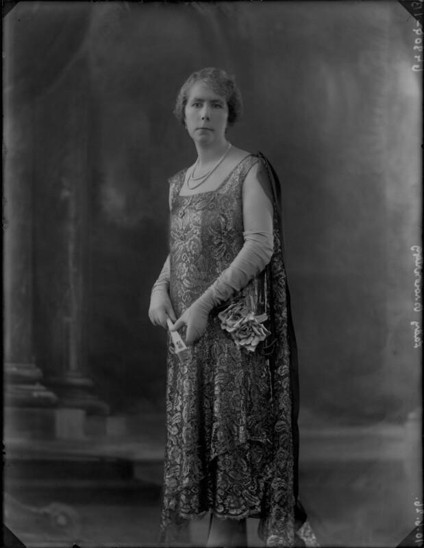 Beatrice (née Clementi-Smith), Lady Brownrigg, by Bassano Ltd, 10 June 1926 - NPG x36521 - © National Portrait Gallery, London
