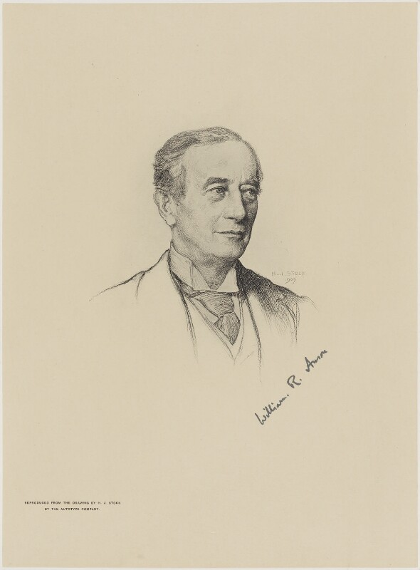 Sir William Reynell Anson, 3rd Bt, after Henry John Stock, (1907) - NPG D18069 - © National Portrait Gallery, London