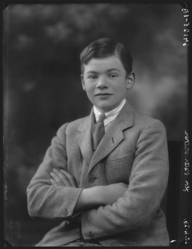 Hon. Peter Rudyard Aitken, by Bassano Ltd, 20 April 1926 - NPG x36678 - © National Portrait Gallery, London