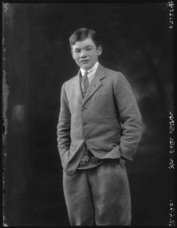 Hon. Peter Rudyard Aitken, by Bassano Ltd, 20 April 1926 - NPG x36679 - © National Portrait Gallery, London