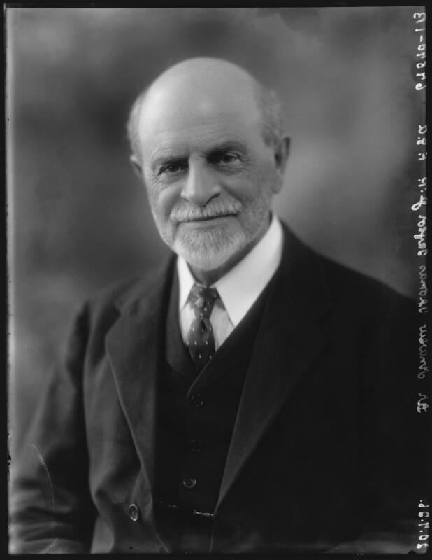 Sir Andrew Thomas Taylor, by Bassano Ltd, 20 July 1926 - NPG x36580 - © National Portrait Gallery, London