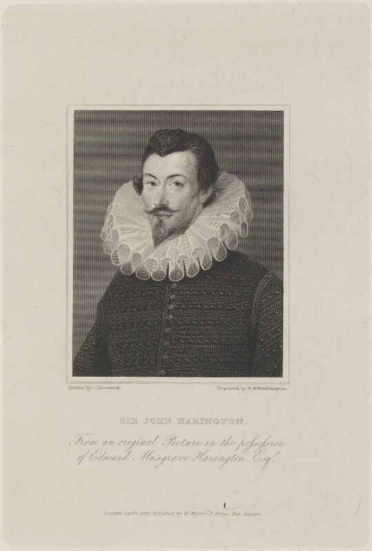 NPG D14663; Sir John Harington - Portrait - National ...