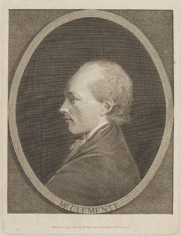 Muzio Clementi, published by William Richardson, published 1 January 1803 - NPG D14664 - © National Portrait Gallery, London