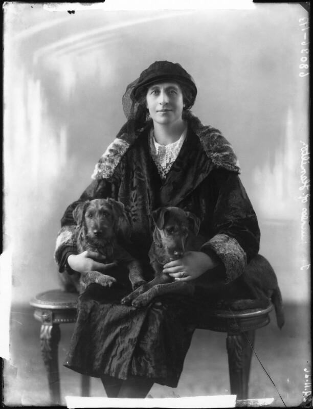 Nina Mary Benita Douglas-Hamilton (née Poore), Duchess of Hamilton, by Bassano Ltd, 29 November 1926 - NPG x36596 - © National Portrait Gallery, London