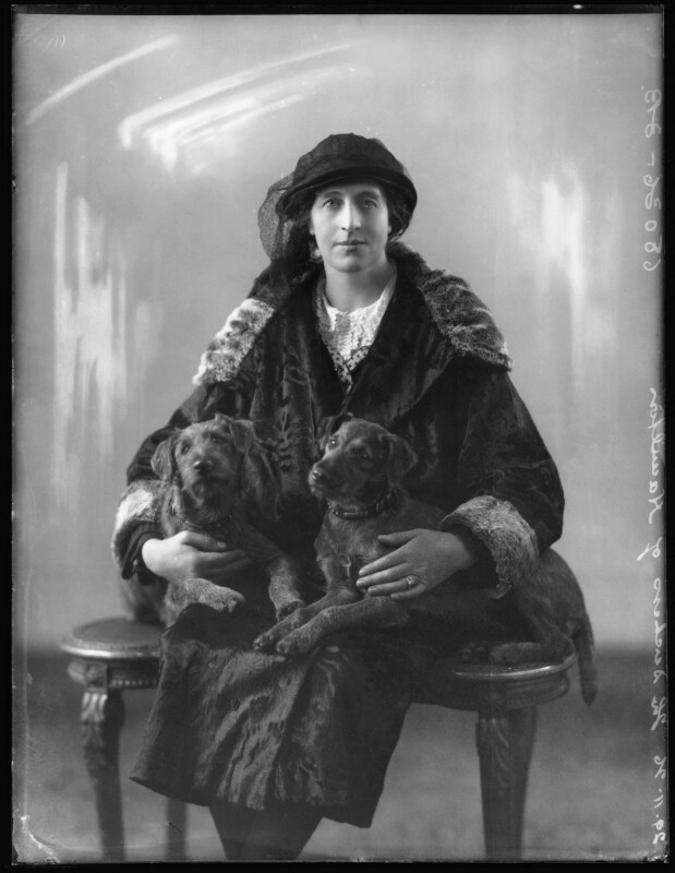 Nina Mary Benita Douglas-Hamilton (née Poore), Duchess of Hamilton, by Bassano Ltd, 29 November 1926 - NPG x36598 - © National Portrait Gallery, London