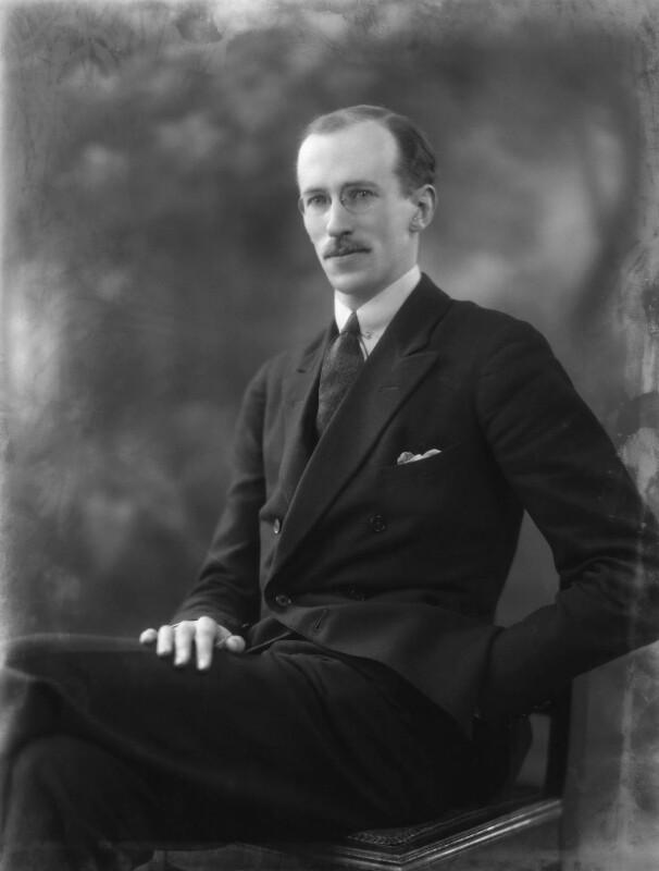 Sir Basil Henry Liddell Hart, by Bassano Ltd, 17 January 1927 - NPG x19204 - © National Portrait Gallery, London