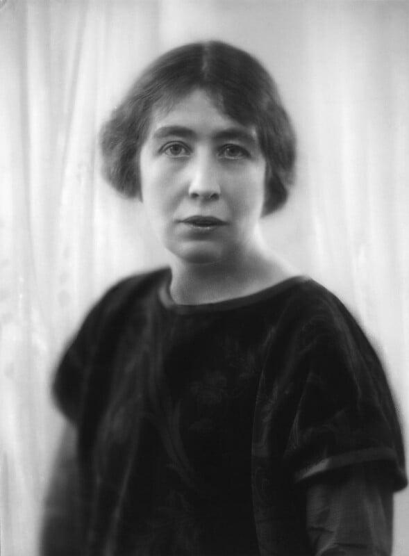 Sylvia Pankhurst, by Bassano Ltd, 25 February 1927 - NPG x18834 - © National Portrait Gallery, London