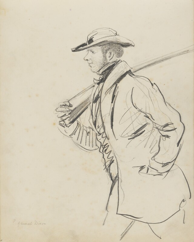 Possibly General Dixon, by Hon. Henry Richard Graves, 1848 - NPG D18085(4) - © National Portrait Gallery, London