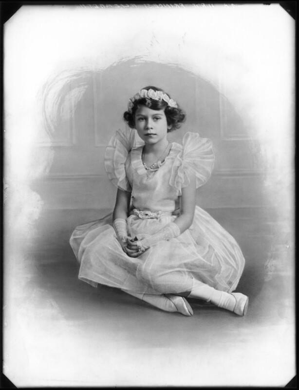 Queen Elizabeth II, by Bassano Ltd, 1934 - NPG x122839 - © National Portrait Gallery, London