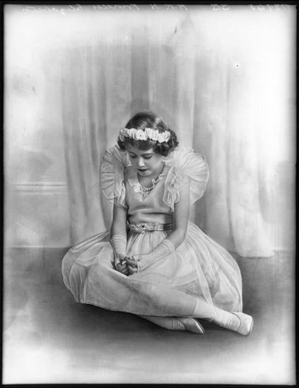 Queen Elizabeth II, by Bassano Ltd, 1934 - NPG x122840 - © National Portrait Gallery, London