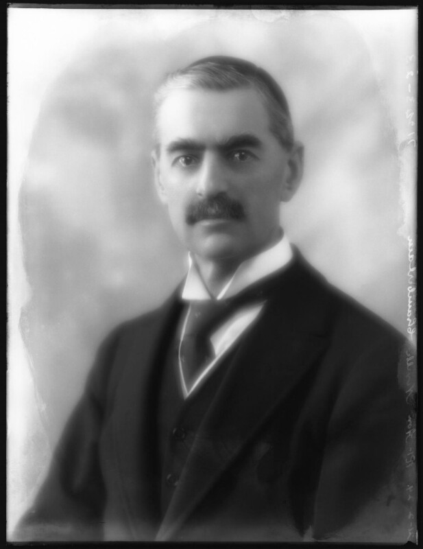 Neville Chamberlain, by Bassano Ltd, 21 February 1929 - NPG x81133 - © National Portrait Gallery, London