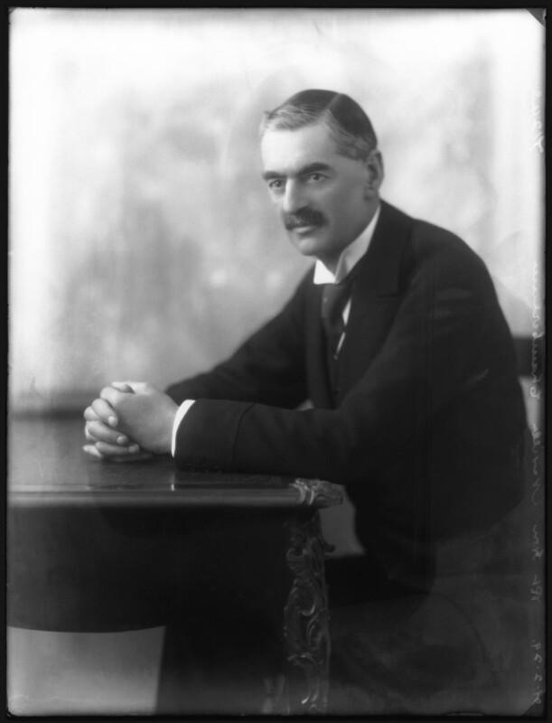 Neville Chamberlain, by Bassano Ltd, 21 February 1929 - NPG x81136 - © National Portrait Gallery, London