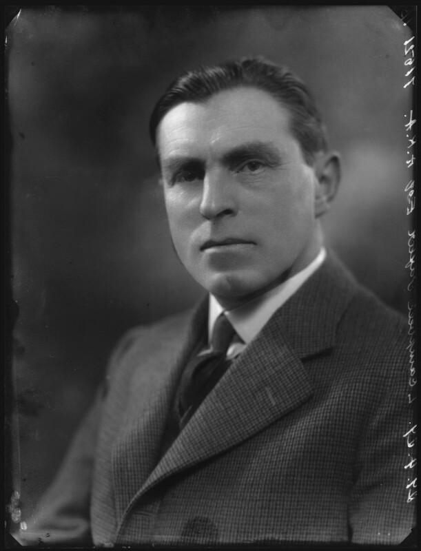 Leonard Campbell Taylor, by Bassano Ltd, 29 April 1929 - NPG x31163 - © National Portrait Gallery, London
