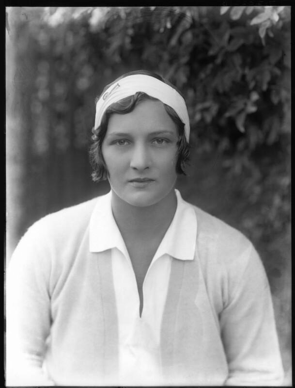 Helen Hull Jacobs, by Bassano Ltd, 1929 - NPG x19497 - © National Portrait Gallery, London